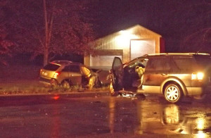 Two people died in this crash at Cedar Springs Ave. and Egner.