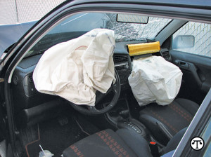It's a good idea to check any used car for properly functioning air bags.