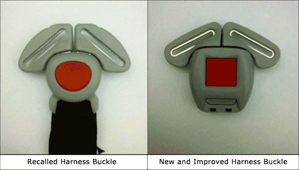 Graco Car Seat Recall Buckle Replacement
