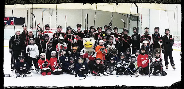 "Event from last December. ""We have a great time at Try Hockey for Free!"""