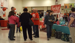 Businesses and non-profit groups showed the community what they have to offer at the annual Community Night last week.