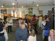 Lots of fun was had by all at the masquerade themed Daddy/Daughter dance.