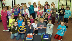 Ms. Jennifer Kahler's 5th grade class.
