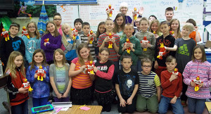 Ms. Dawn Nielsen's 4th grade class.