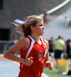 Junior Kenzie Weiler placed fifth in the 3200 meter run at the state finals.