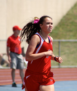 Senior Maddie Pekrul placed 22nd in 3200 meter run at the state finals.