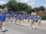 Sparta-band-colorguard