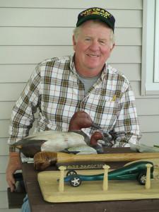 Master Wood Carver Dan Davis