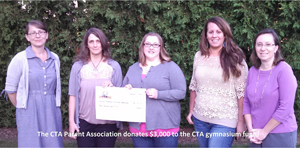 CTA-Parent-Association-donates