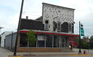 The front view of the building located at 95 N. Main St. Post photo by L. Allen.