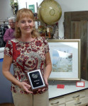 Popular vote winner Julie  Ketcham.