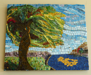 "This mosaic, titled ""Forever Connected,"" is from second-time Art Review artist Michelle Embs."