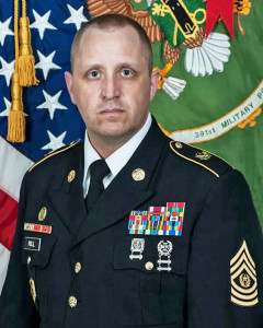 Command Sergeant Major  Michael Jorge Poll II