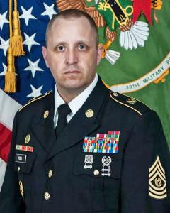 Command Sergeant Major  Michael Jorge Poll II