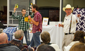 A live auction raised over $25,000 for Pine Ridge Bible Camp.