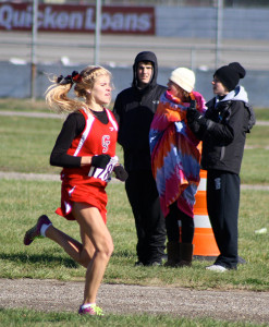 Kenzie Weiler finished second in the state in the Division 2 girls cross country finals last weekend.