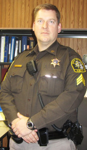 Sgt. Jason Kelley, supervisor of the Cedar Springs unit of the Kent County Sheriff Department.