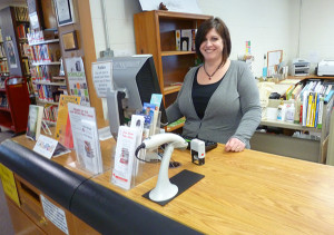 Kelly Roach started as the new children's librarian at the Cedar Springs Library this week.