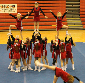 Cedar Springs Middle School Red team took first-place at their own invitational.