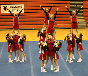 Cedar Springs Middle School White team took second-place at last weekend's invitational.
