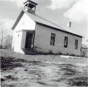 The Hoag School before it was converted to a family home.