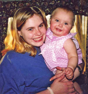 Rachel Timmerman and her daughter, Shannon, who was never found