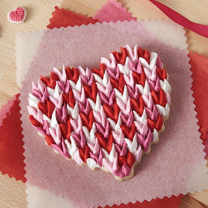 Scalloped Heart Cookies