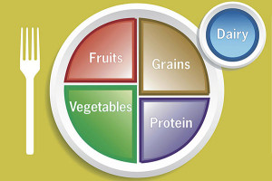 Existing federal guidelines for the U.S. diet, known asMyPlate, recommend that half the food we eat should be fruits and vegetables, yet these foods are granted less than one percent of farm subsidies.