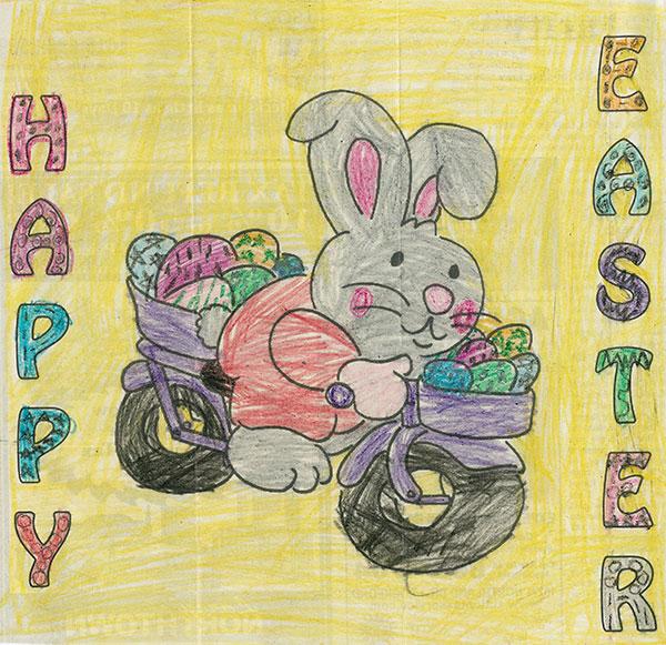 easter coloring contest winners cedar springs post newspaper Coloring Contest Flyer  Coloring Contest Age Groups
