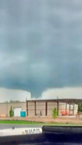 This photo, submitted by a reader, was taken in Greenville near the old Meijer store. Courtesy photo.