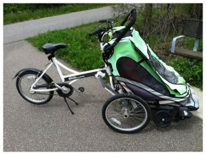 This bike was stolen at the end of W. Ash Street, just off the White Pine Trail. Courtesy photo.