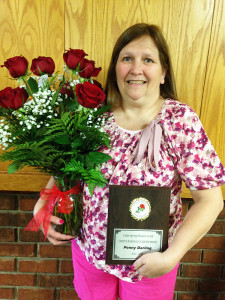 Penny Darling was named Cedar Springs Women's Club Woman of the Year. Courtesy photo.