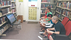 Teen Super Smash Brothers Brawl tournament.