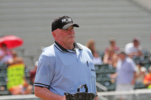 Michael Duffy has been umpiring for college baseball since 1985.