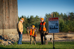 The DNR's Hunting Access Program provides hunters with quality hunting land close to home and landowners with incentives for allowing hunters access to their property.