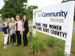 Pictured (L to R): Sharon Stiansen, Linda Southwick, Kathy Florentine, Claire Guisfredi, Taryn Chatel.