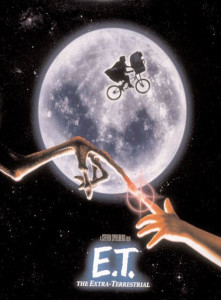 August's science fiction movie is planned for E.T.