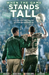 When the Game Stands Tall is the football movie scheduled for September.