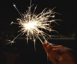 To help prevent wildfires, the Department of Natural Resources urges people to place used fireworks, including sparklers, in a bucket of water after they've gone out. When thrown on the ground while they're still hot, fireworks can cause grass fires that can spread to become wildfires.