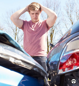 Most rear-end crashes occur in the afternoon when school is letting out.