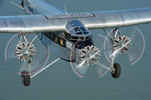 This 1928 Ford Tri-Motor airliner is on tour through the Midwest and will be at the Sparta Airport Thursday, August 13 through Saturday, August 15.