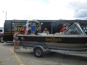 The Kent County Sheriff Department Expo was a big hit with the kids. Post photo by J. Reed.