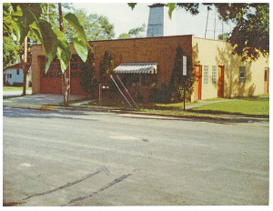 This photo shows the Cedar Springs Public Library when it shared a home with the Cedar Springs Fire Department. The Library is still in this building.