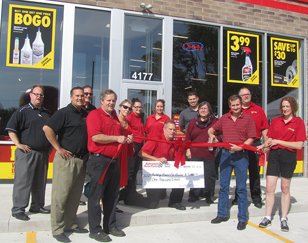 On September 24th Advance Auto held a ribbon cutting ceremony