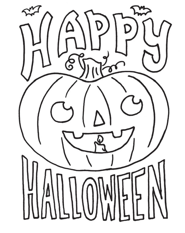 2015 Halloween Coloring Contest | Cedar Springs Post Newspaper