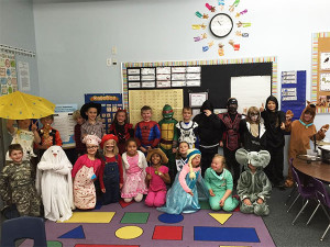 Mrs. Krombeen's Second grade Halloween party