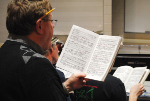 Randy Masterson, of Saranac, will perform a tenor solo during the Montcalm Community College Alumni & Friends Choir performance of Messiah.