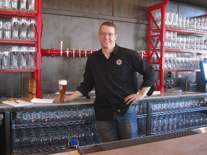 David Ringler, owner of Cedar Springs Brewing Company, is seeing his dream come to life.