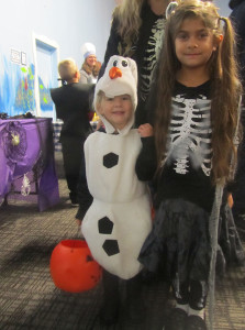 Olaf-skeleton
