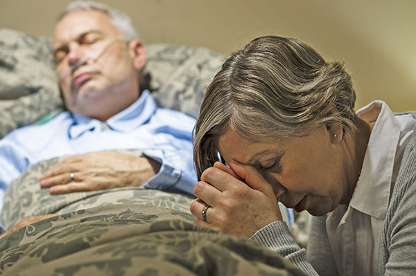 Hospice of Michigan spiritual care advisors help patients discover a sense of peace and closure as they prepare to die.